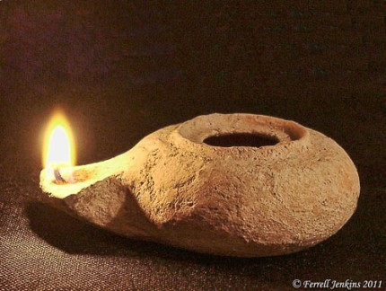 Lighted Herodian Lamp